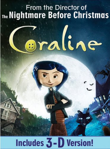 Coraline (Single-Disc Edition)[Anaglyph 3D] System.Collections.Generic.List`1[System.String] artwork