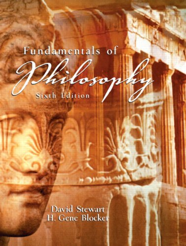 Fundamentals of Philosophy  6th 2006 9780131930025 Front Cover