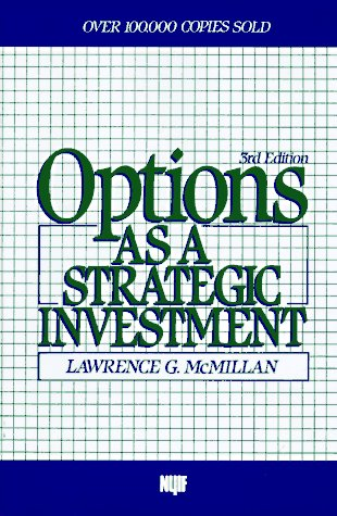 Options as a Strategic Investment  3rd 1992 edition cover