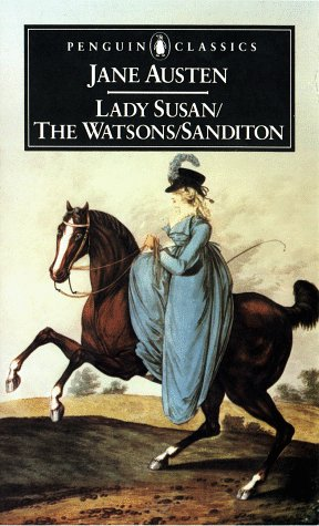 Lady Susan, the Watsons, Sanditon   1974 edition cover