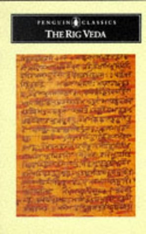 Rig Veda An Anthology of One Hundred Eight Hymns  1981 edition cover