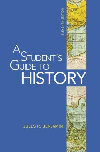 Student's Guide to History  11th edition cover