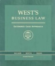 Rebind - West's Business Law : Extended Case Approach(with 2006 Online Research Guide) 2nd 2006 edition cover