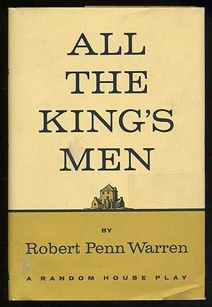 All the King's Men  N/A 9780394405025 Front Cover