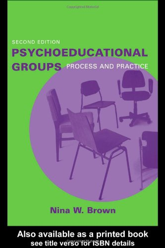 Psychoeducational Groups Process and Practice 2nd 2004 (Revised) edition cover