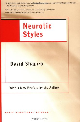 Neurotic Styles  N/A edition cover