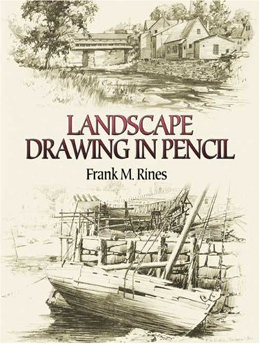Landscape Drawing in Pencil   2006 9780486450025 Front Cover