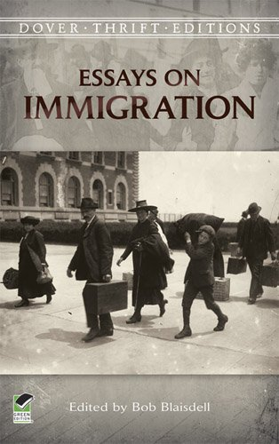 Essays on Immigration   2013 edition cover