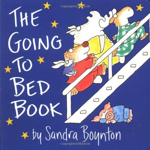 Going to Bed Book   1995 9780671449025 Front Cover