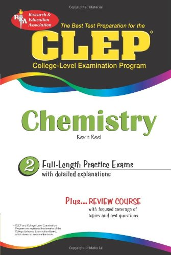 CLEP Chemistry College-Level Examination Program N/A 9780738603025 Front Cover