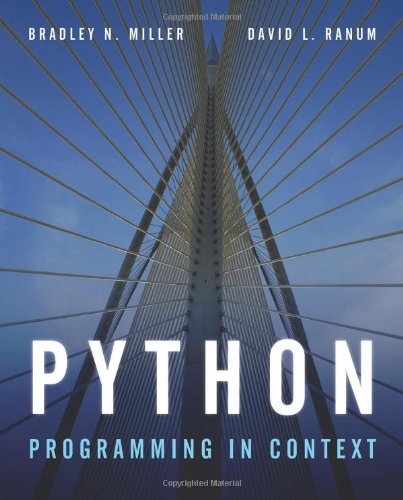 Python Programming in Context   2009 edition cover