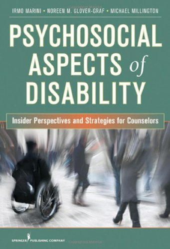Psychosocial Aspects of Disability Insider Perspectives and Counseling Strategies  2011 edition cover