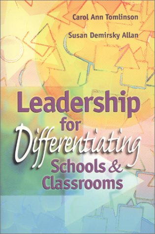 Leadership for Differentiating Schools and Classrooms   2000 9780871205025 Front Cover