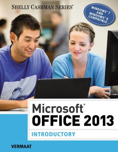 Microsoft� Office 2013 - Introductory   2014 9781285166025 Front Cover