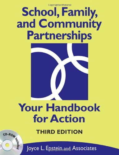 School, Family, and Community Partnerships Your Handbook for Action 3rd 2009 edition cover