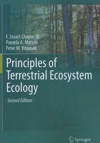 Principles of Terrestrial Ecosystem Ecology  2nd 2011 edition cover
