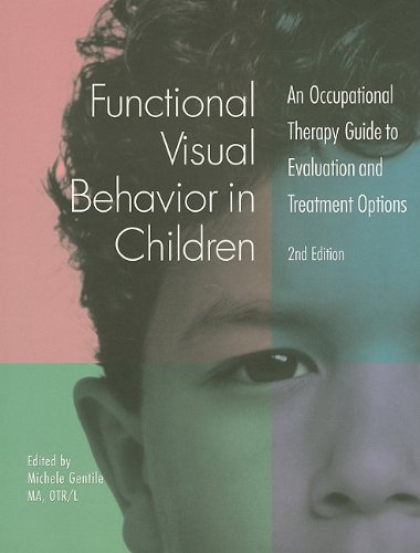 Functional Visual Behavior in Children An Occupational Therapy Guide to Evaluation and Treatment Options 2nd 2005 9781569002025 Front Cover