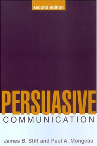 Persuasive Communication, Second Edition  2nd 2002 edition cover