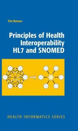 Principles of Health Interoperability HL7 and SNOMED   2010 9781848828025 Front Cover