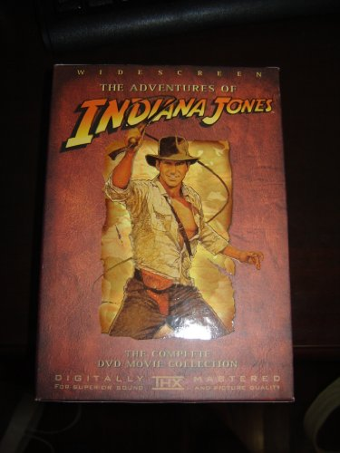 The Adventures of Indiana Jones (Wilde Screen) - The Complete DVD Movie Collection System.Collections.Generic.List`1[System.String] artwork