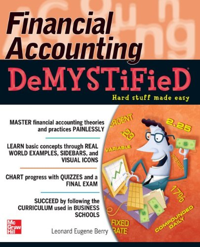 Financial Accounting   2011 edition cover