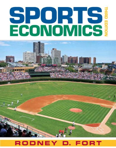 Sports Economics  3rd 2011 edition cover