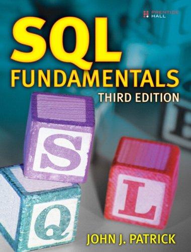 SQL Fundamentals  3rd 2009 edition cover