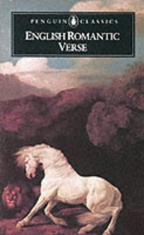 English Romantic Verse   1986 9780140421026 Front Cover