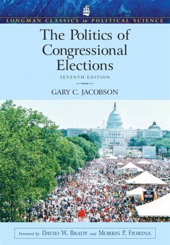 Politics of Congressional Elections  7th 2009 edition cover