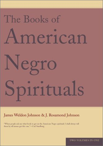 Books of American Negro Spirituals  N/A edition cover
