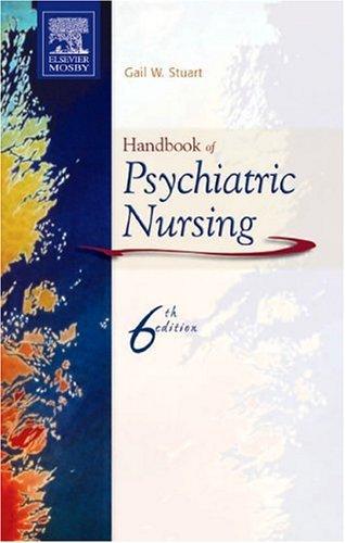 Handbook of Psychiatric Nursing  6th 2005 (Revised) edition cover