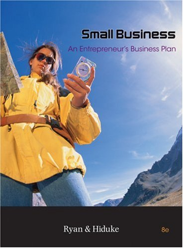 Small Business An Entrepreneur's Business Plan 8th 2009 edition cover
