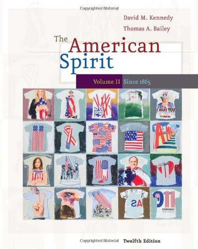 American Spirit since 1865  12th 2010 edition cover