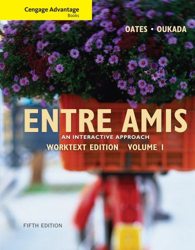 Entre Amis  5th 2011 9780495909026 Front Cover