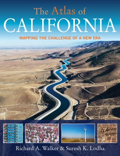 Atlas of California Mapping the Challenge of a New Era  2013 edition cover