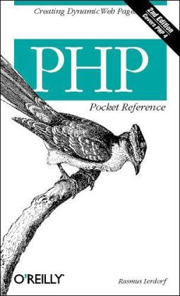 PHP Pocket Reference  2nd 2002 edition cover