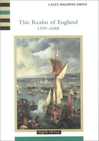 This Realm of England, 1399-1688  8th 2001 edition cover