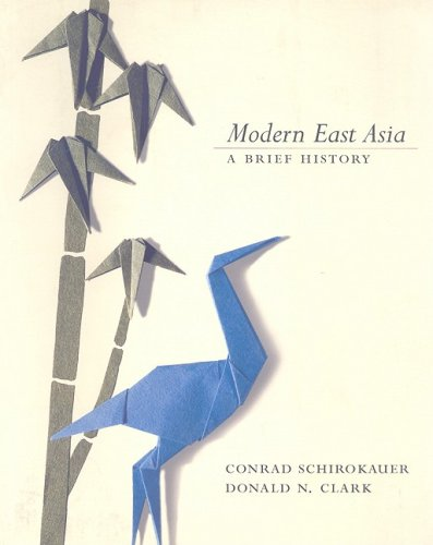 Modern East Asia A Brief History  2004 9780618915026 Front Cover