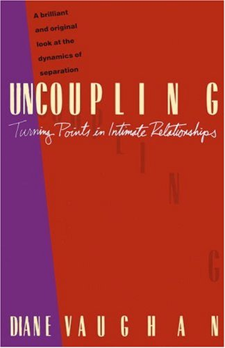 Uncoupling Turning Points in Intimate Relationships  1986 edition cover