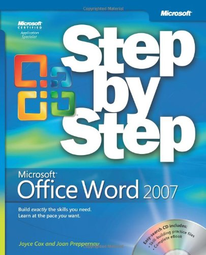 Microsoft� Office Word 2007   2007 (Revised) edition cover