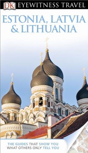 Estonia, Latvia and Lithuania - Eyewitness  N/A edition cover