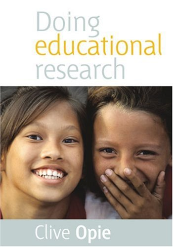 Doing Educational Research   2004 9780761970026 Front Cover