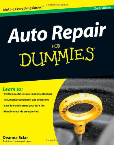 Auto Repair for Dummies�  2nd 2009 edition cover