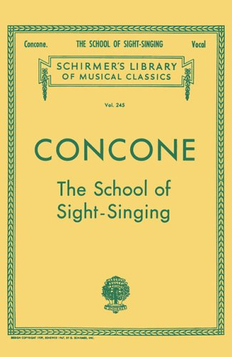 School of Sight-Singing Vocal Practical Method for Young Beginners N/A edition cover