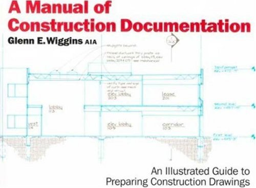 Manual of Construction Documentation  N/A edition cover