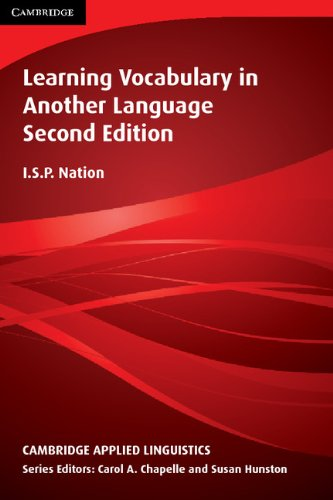 Learning Vocabulary in Another Language  2nd 2013 (Revised) edition cover