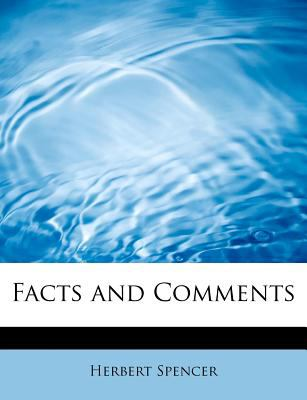 Facts and Comments  N/A 9781115431026 Front Cover