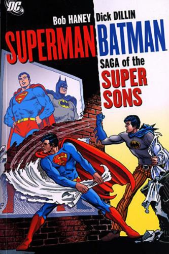 Saga of the Super Sons   2007 9781401215026 Front Cover