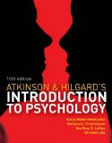 Introduction to Psychology  16th 2014 edition cover