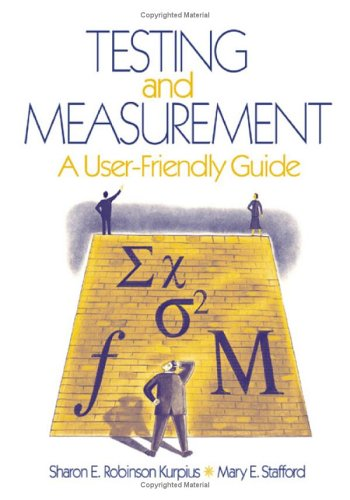 Testing and Measurement A User-Friendly Guide  2006 edition cover